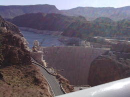 Photo of Las Vegas Ultimate Hoover Dam Tour view of the Dam from the sky walk bridge