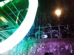 Photo of Amsterdam Holiday Canal Cruise: Amsterdam Light Festival from a Glass-Topped Canal Barge Wheel of Light