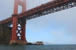 Sailing under the Golden Gate Bridge , Erin N - October 2012