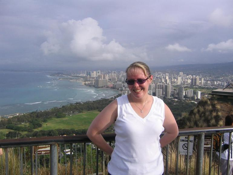 At the top! - Oahu