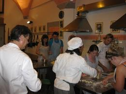 Photo of Florence Tuscan Cooking Class and Dinner in Florence Chef at Work