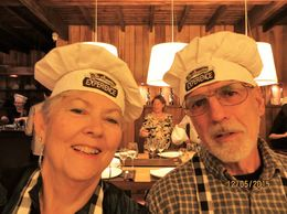 We were well into the meal and some of the guests took our pictures! , Sandra R. G - December 2015
