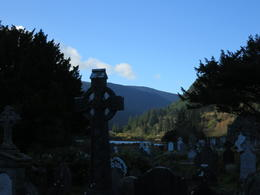 Medieval monastic site in Glendalough. , Kara M - December 2014