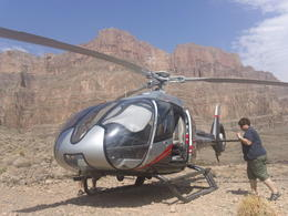Our helicopter, Mykie - July 2011