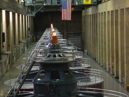 Inside the power plant tour , Katherine S - October 2013