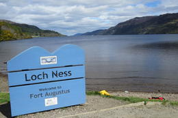 the famous loch NESS ... and yess we found nessy - in the gift store , Michelle d - June 2013
