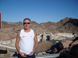 Photo of me at the view point above the Hoover Dam, RICHARD L - September 2010
