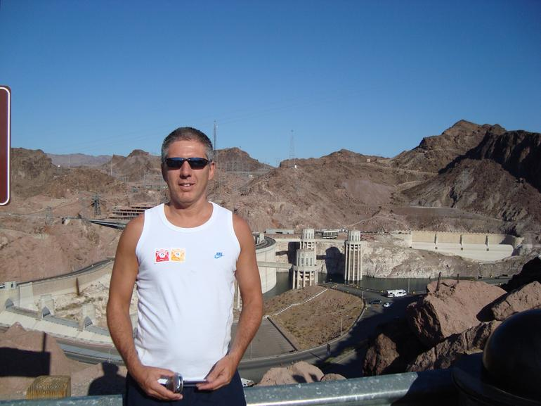 Me at the Hoover Dam - Las Vegas