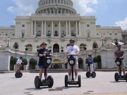 Photo of Washington DC Washington DC Segway Tour Nancy and I in front of Capitol