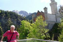 Me at Neuschwanstein May 2012. , alan g - May 2012