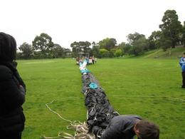 Photo of Melbourne Melbourne Balloon Flight at Sunrise Packing it up