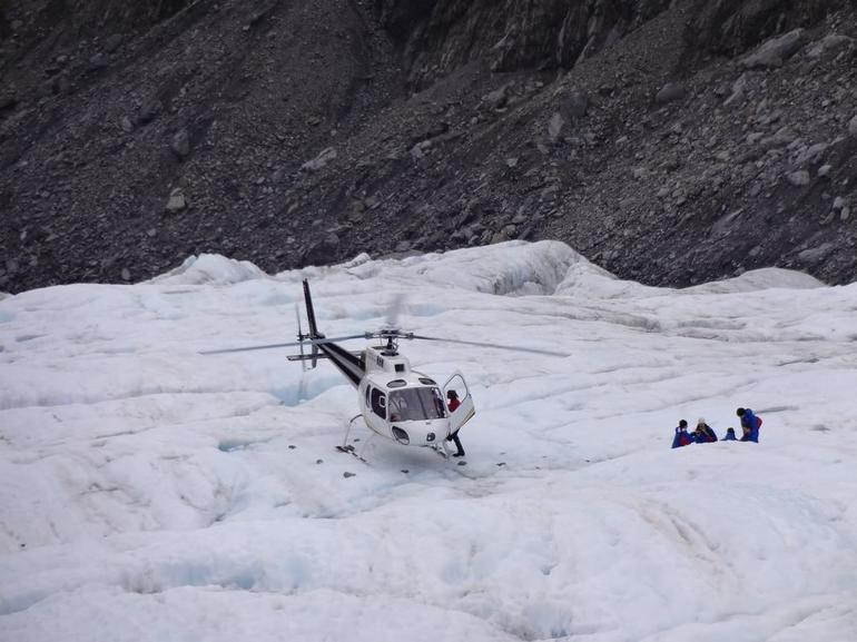 Pick up point - Franz Josef & Fox Glacier