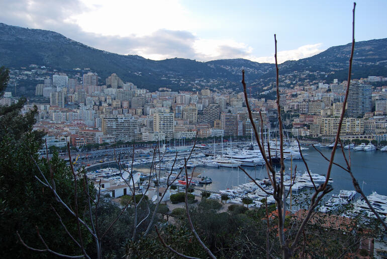 Port in Monaco - March 2010 -