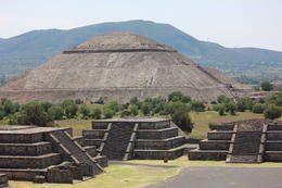 Photo of Mexico City Teotihuacan Pyramids and Shrine of Guadalupe Pyramid of the Sun