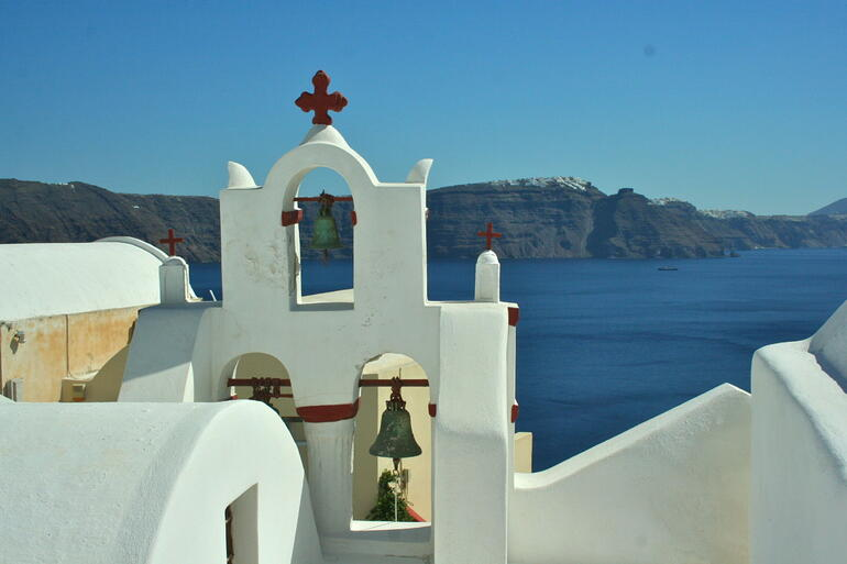 The Bells of Santorini, Greece -