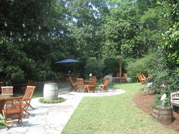 Photo of   The Winery garden at Belle Meade