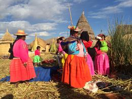 Photo of Puno Uros and Taquile Islands Day Trip from Puno Uros Women