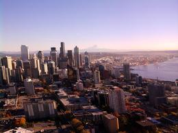 This is taken from the space needle., Kathi H - November 2010