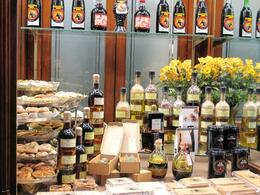 The tapas walking tour stops at great shops, like this one with local oils and cheeses. Barcelona is not a good place to lose weight., RobC - September 2010
