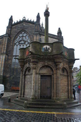 Mercat Cross , Maria R - June 2012