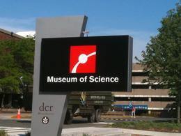 Entrance to the Museum of Science - June 2011