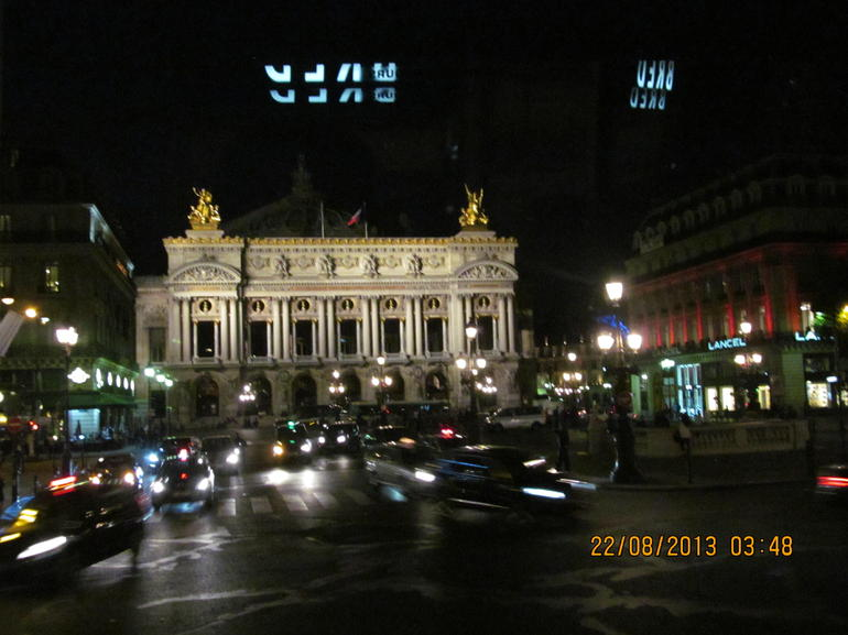 Night life in Paris - Paris