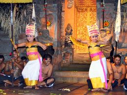 Photo of Bali Bali Kecak Dance, Fire Dance and Sanghyang Dance Evening Tour Sanghyang dance