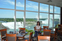 Sheraton fallsview restaurant , RITCHEL R - June 2014