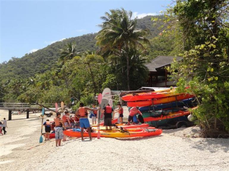 The Hire Shop on Fitzroy island - Cairns & the Tropical North