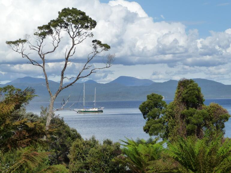 View from Sarah Island - Tasmania