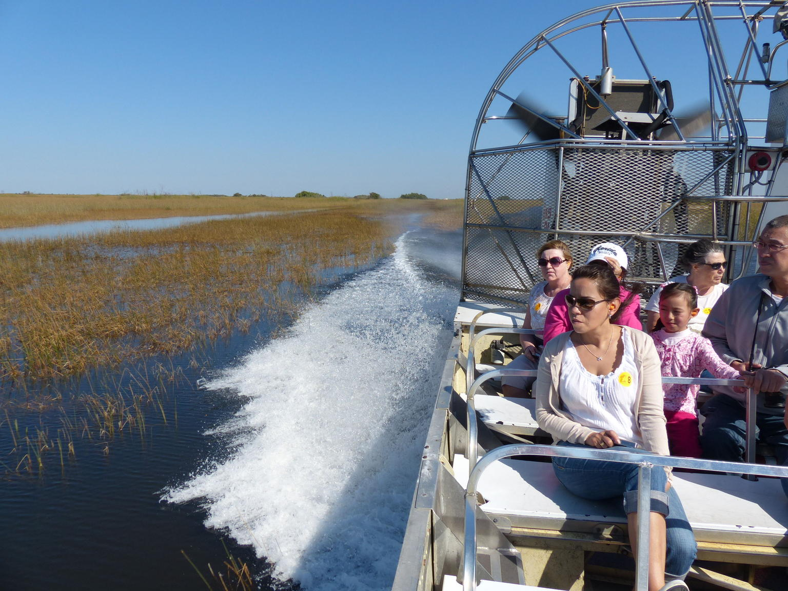 Florida Everglades Airboat Adventure plus Miami Biscayne Bay Cruise