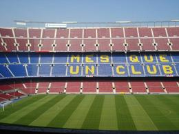 Photo of Barcelona Barcelona Hop-on Hop Off Tour: North to South Route Barcelona soccer stadium