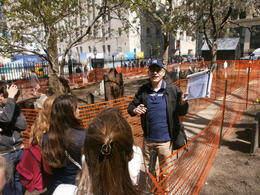 Photo of New York City 9/11 Memorial and Ground Zero Walking Tour with Optional 9/11 Museum Upgrade Ben notre super guide