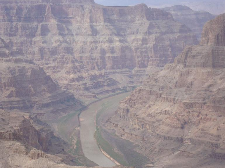Blue Hue in the Grand Canyon - Las Vegas