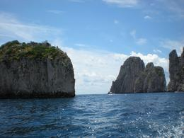 A view from the boat tour around the south side of the island, Paul P - July 2009