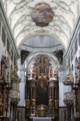 There were many beautiful churches in Salzburg, including the Cathedral, St. Francis', and St. Peter's., Daniel N - July 2009