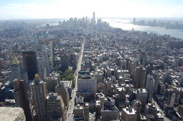 Great View from the Empire State Building , Robert K - October 2015