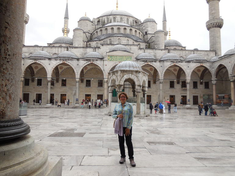 Beauty at the blue mosque