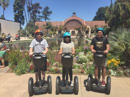 This is my family, husband Richard, son Jack and myself, we were at Balboa Park. , Hilda A - April 2016