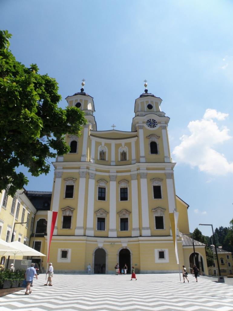 The church where they were married - Salzburg