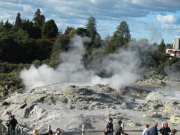 Photo of Auckland Waitomo Caves and Rotorua Day Trip from Auckland The Pohuto Geyser at Rotorua