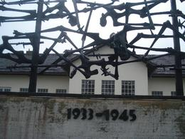 This depicted the time the horror that was Dachau took place over. May this never occur again., David F - June 2010