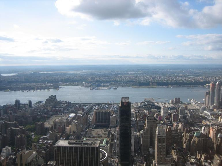 View from the Empire State Building - New York City