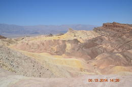 One of many colorful areas in Death Valley. , Ron M - June 2014