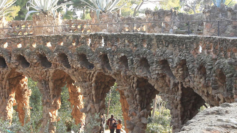 Check out Parc Güell!