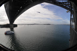 Photo of Auckland Auckland Harbour Bridge Bungy Jump Auckland Bridge Bungy under the bridge 2454AKL_BUNGY.jpg
