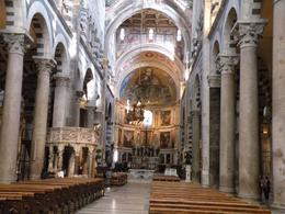 Lovely and very ornate church, right next to the Leaning Tower of Pisa. The church is absolutely beautiful inside., Evan Wade R - April 2009