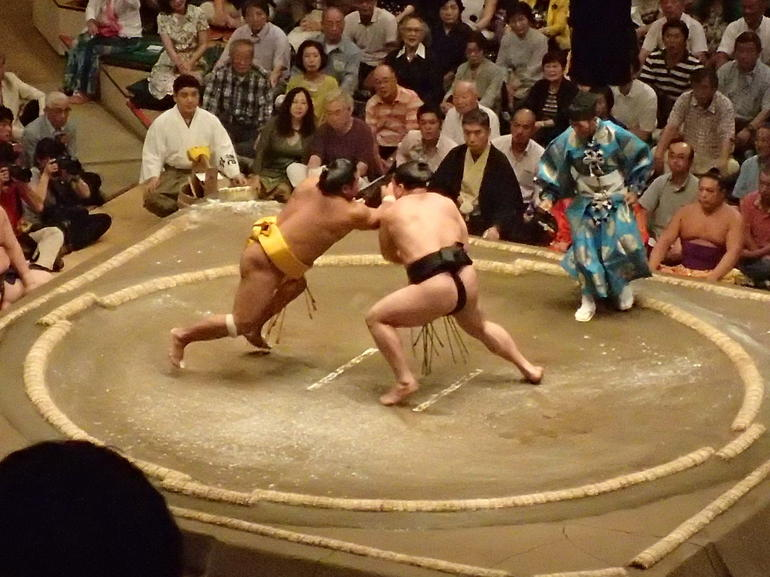 Best Sumo Bout - Tokyo