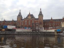 Cruising past Centraal Station. , Emmsy68 - July 2014