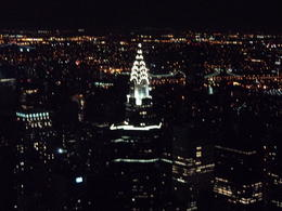 View of the Chrysler building at Night , Paul H - August 2014
